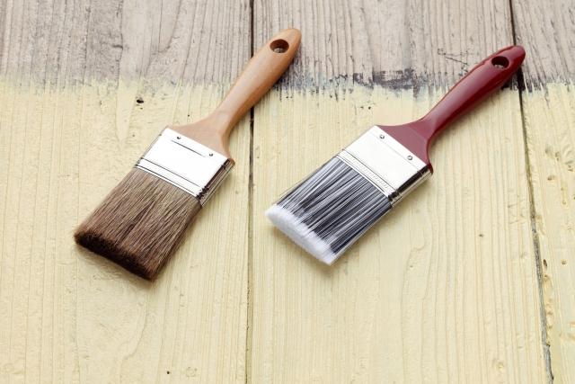 塗料は1回塗るだけではない?塗装のプロセス