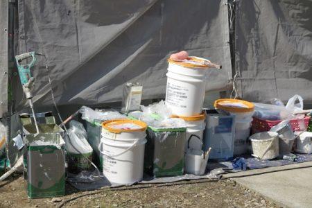 換気できない?洗濯物が干せない?外壁塗装工事中の不便