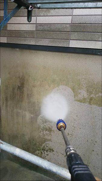 高圧洗浄の注意点