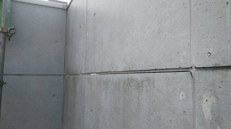 国立市外壁屋根塗装、コーキング、ベランダ防水①
