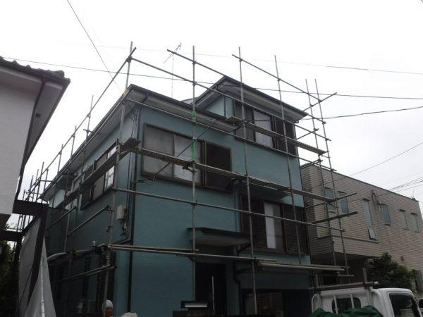 国分寺市 外壁屋根塗装工事
